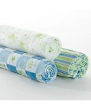 Smart-Swaddle Muslin Wraps (pack of 3)