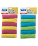 Face Washers 6 Pack