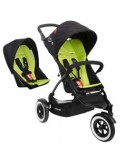 Phil & Teds DOT Buggy with Double Kit