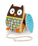 Skip Hop Flapping Owl Pull Toy