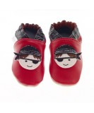 Jack & Lily Baby Shoes - Red Pirate