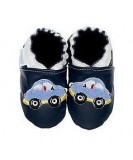Jack & Lily Baby Shoes - Blue Cars