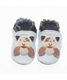 Jack & Lily Baby Shoes - Blue Dog