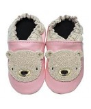 Jack & Lily Baby Shoes - Pink Bear