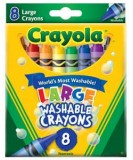 large crayons 8 colors