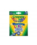 crayons 16 colors large